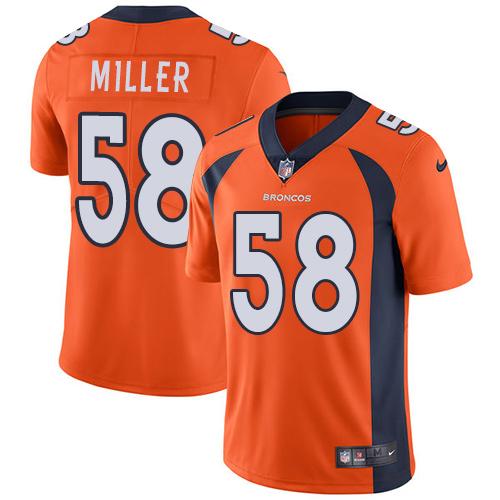 wholesale replica nfl jerseys Youth Denver Broncos #58 Von Miller ...